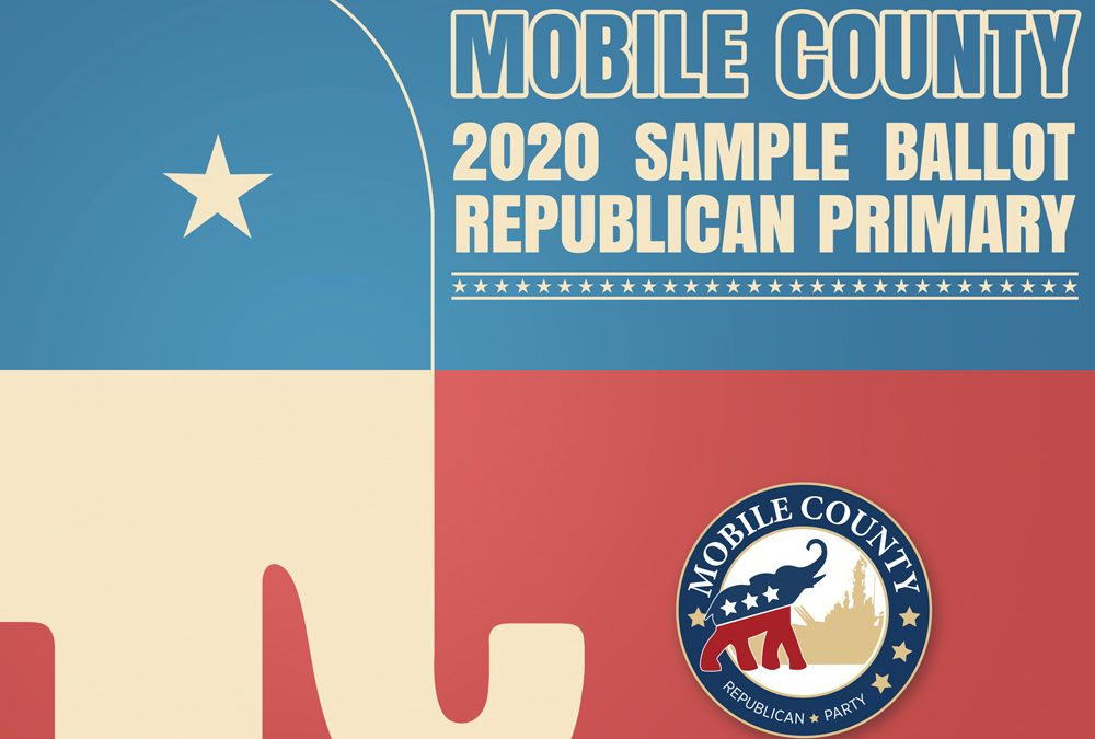 Mobile County 2020 Republican Primary Election Sample Ballot